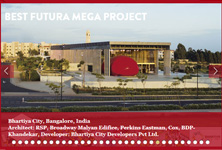 Award Best Futura mega project: Bhartiya City, India