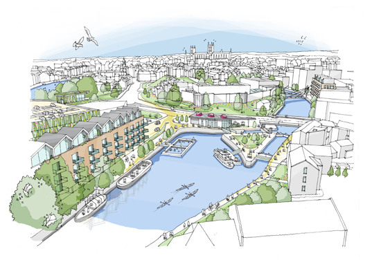 York, Castle Gateway Masterplan (UK)