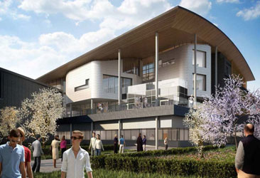 Maxwell Centre breaks ground