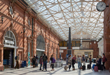 Official opening for Nottingham Midland Station