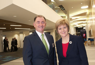 TIC established by Scotland's First Minister