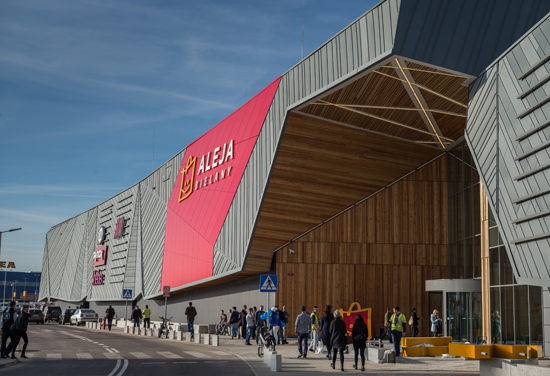 BDP completes Polish shopping centre extension