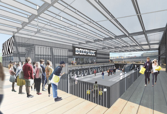 BDP to design Boxpark Croydon