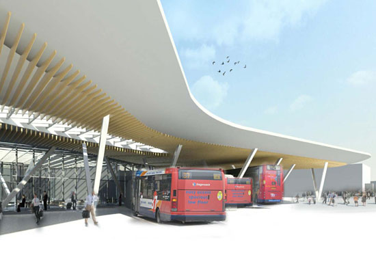 BDP wins Gloucester Bus Station competition