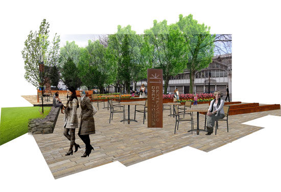 Realising a future vision for Manchester's Roman Gardens