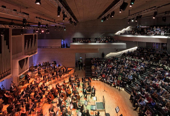 RNCM concert hall opens to great praise