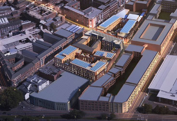 Plans submitted for new urban village in Birmingham