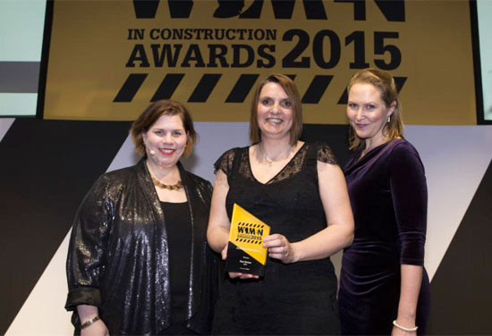 Sue Emms wins Architect of the Year award