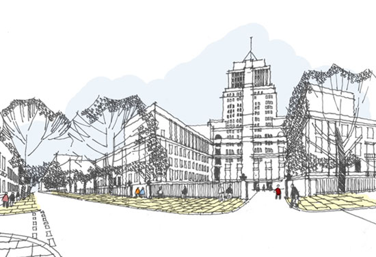 BDP appointed for University of London masterplan