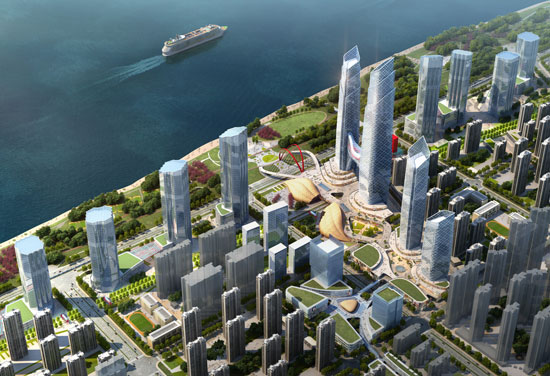 BDP completes Wuhan Masterplan