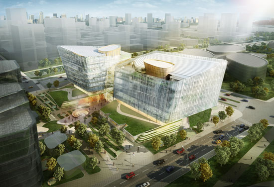 BDP Wins Design Competition in Nanjing