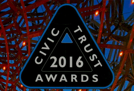 Success for BDP at Civic Trust Awards 2016
