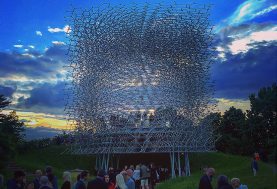The Hive opens at Kew Gardens