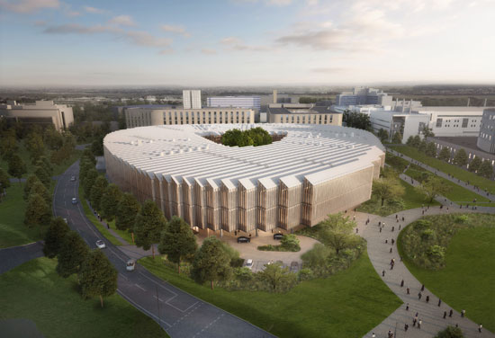 AstraZeneca Global R&D Centre and HQ Tops Out