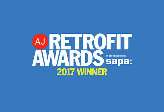 Double win at the AJ Retrofit Awards