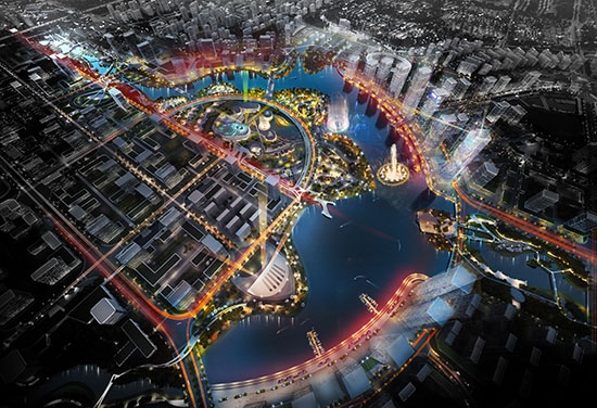 BDP wins Yancheng Nanhai Future City Urban Design competition