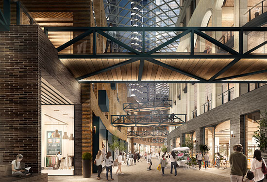 Designs revealed for The Well Toronto
