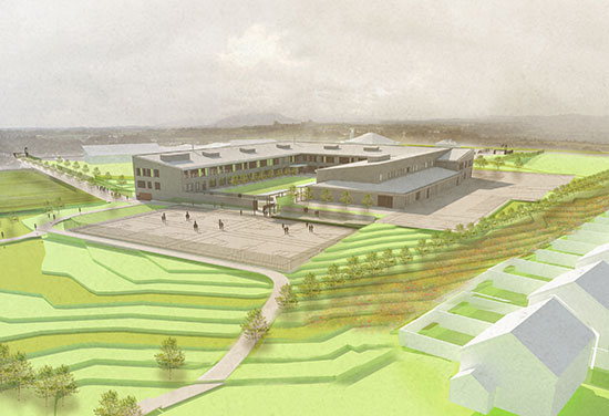 Innovative New School Submitted for Planning