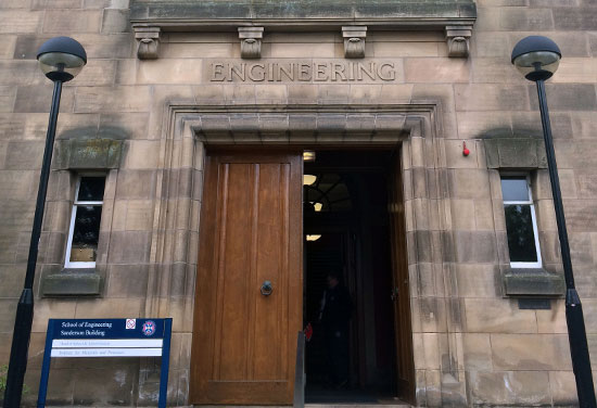 New School of Engineering for University of Edinburgh