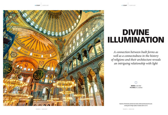 Lighting Magazine: Sacred Light