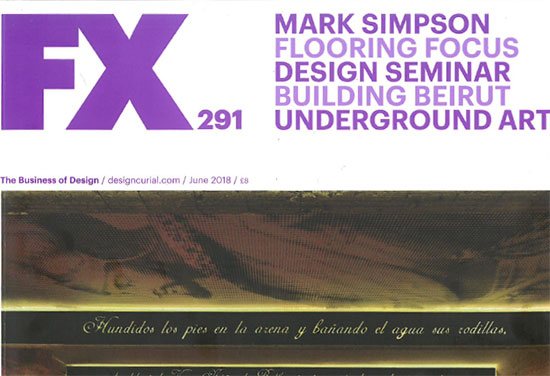 FX Magazine people profile of Mark Simpson