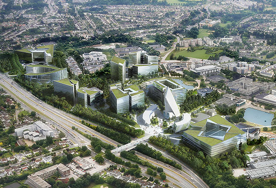 University College Dublin Future Campus Shortlist Revealed