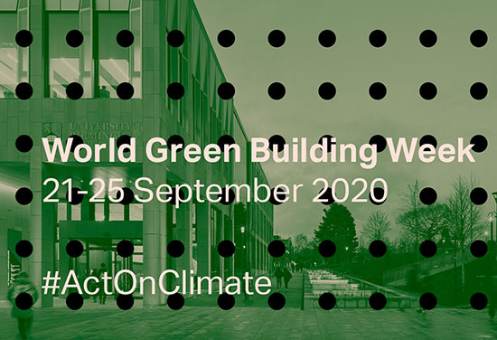 Act on climate: BDP supports World Green Building Week 2020