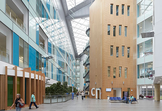 BDP clinches award for redevelopment of Southmead Hospital