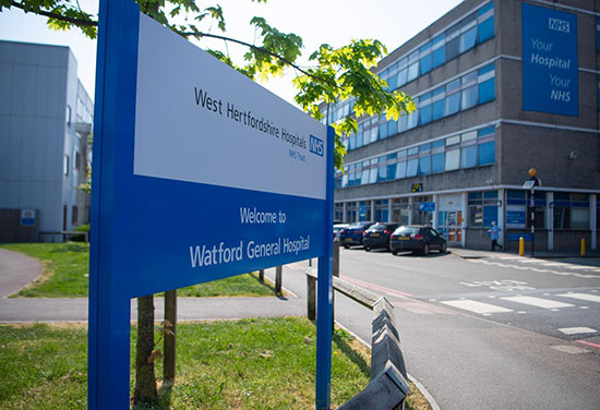 BDP design team appointed to manage West Hertfordshire hospital projects