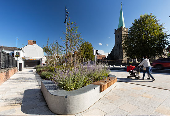 Clanbrassil Street and St Nicholas Quarter wins Placemaking Award