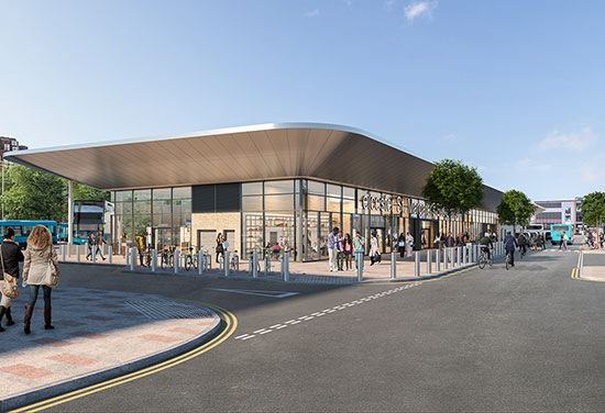 UK's first carbon neutral bus station designed by BDP