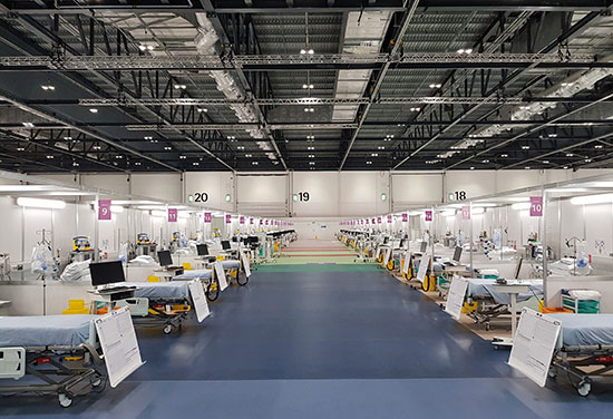 Nightingale hospital designs win BCIA award for best construction initiative during COVID-19 pandemic