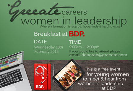 Greeate Careers – Women in Leadership