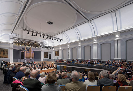 Aberdeen Music Hall Highly Commended at Civic Trust Awards