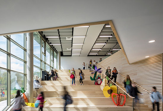American School of Paris campus completes