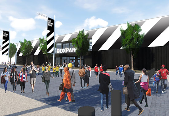 Next Boxpark development is launched