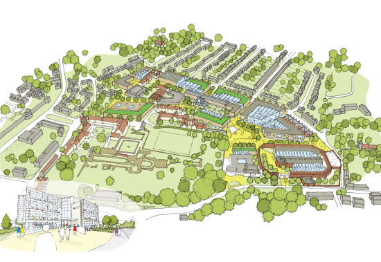 Canterbury Christ Church University Masterplan