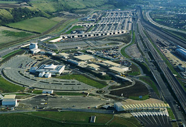 Channel Tunnel UK Terminal