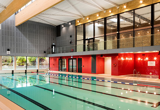 Clongowes Wood College Swimming Pool