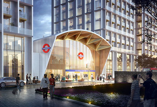 Plans Revealed for Colindale Station