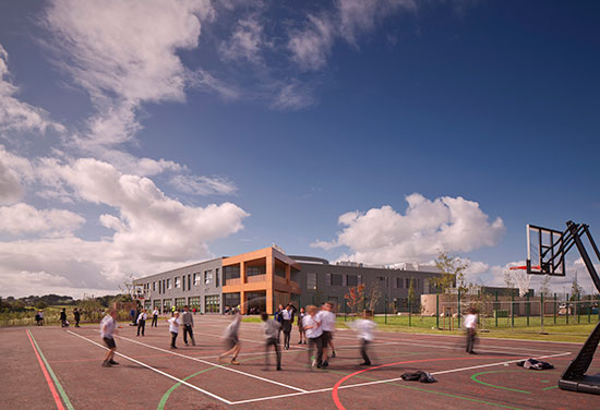 Faith Schools' Joint Campus in ArchDaily