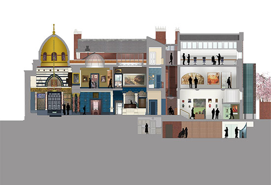 Designs for Leighton House Museum revealed