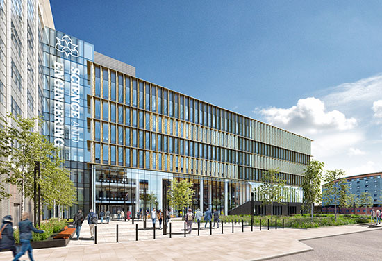 Construction begins on Manchester Metropolitan University's £45million High Tech Super-Lab