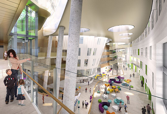 Inside Dublin's new children's hospital plans