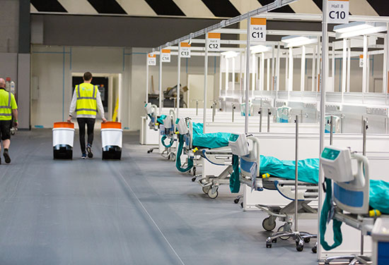 BDP works on conversion of Birmingham NEC into NHS Nightingale Hospital