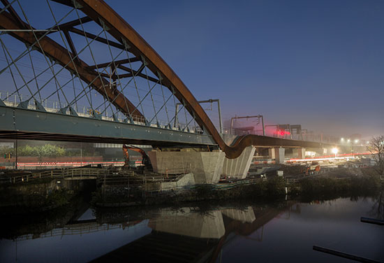 Light, drama and bridges: the Ordsall Chord public realm is a triumph