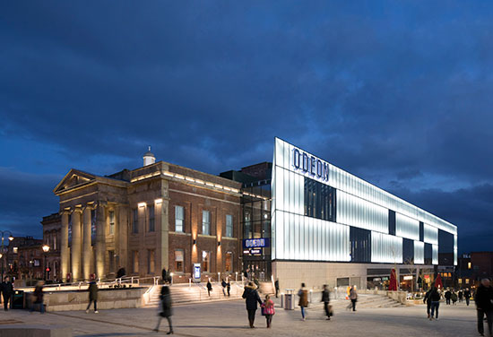 Oldham's Old Town Hall reborn as cinema