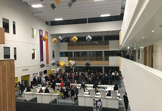 New Scottish Academy Building Officially Opens