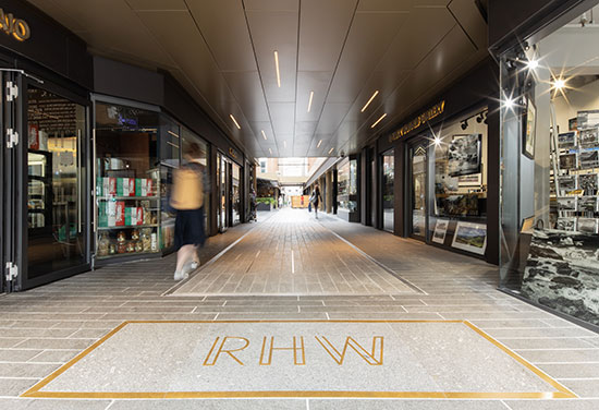 Royal Hibernian Way in Dublin wins top award for retail fit out