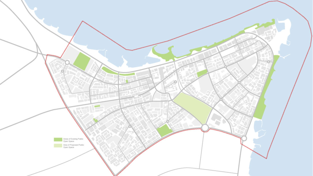 Salmiya District Masterplan Kuwait BDPcom